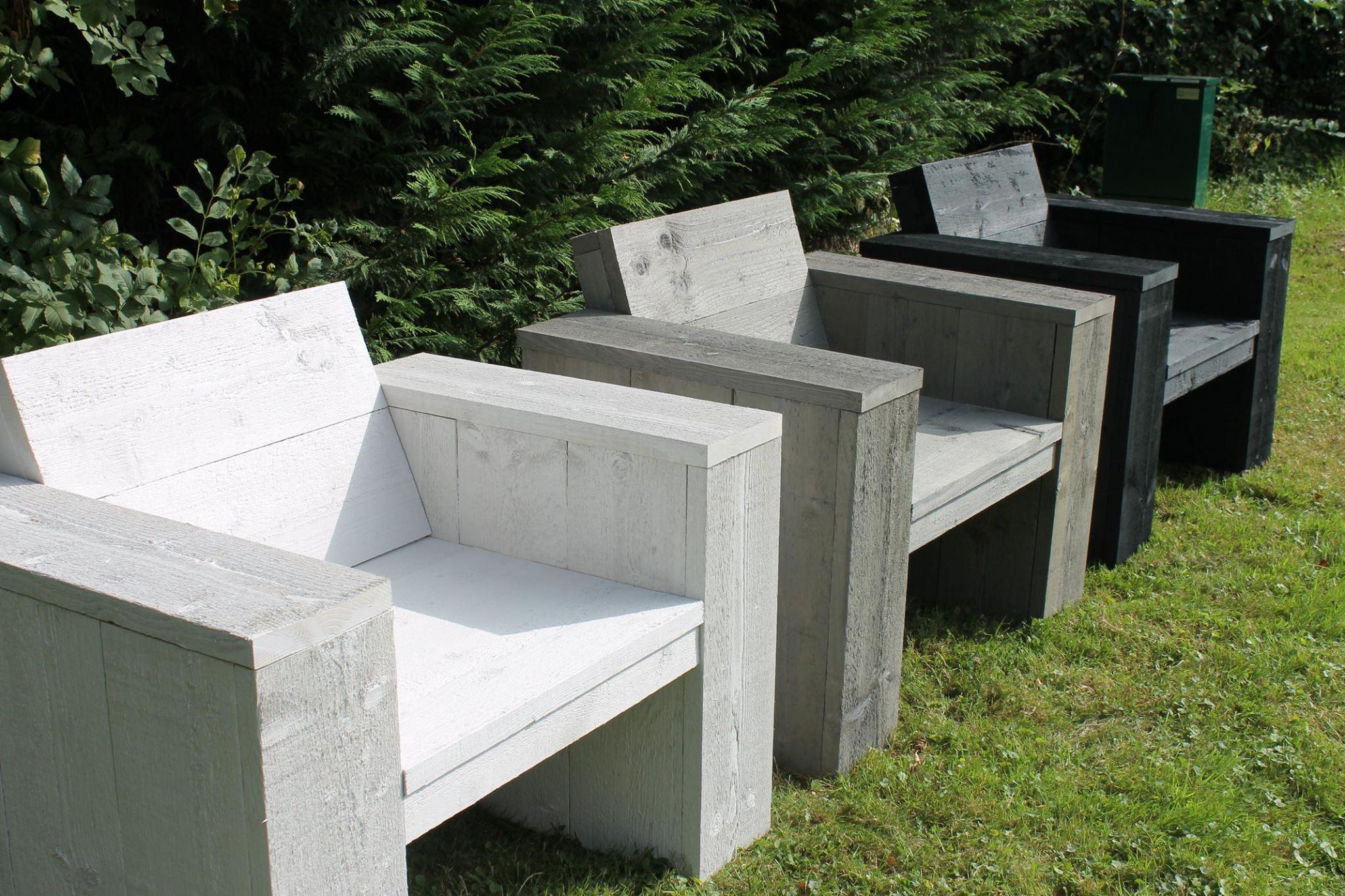 Steigerhouten meubelen van de noort for Loungeset steigerhout zelf maken