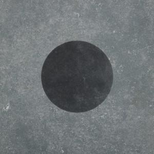 Duostone_Dot Black on Grey